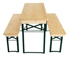Set de table à bière 110cm